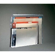 "Vinyl Envelopes 20""x25"" (25/bx). Comes with hangers and hooks. Fits up to 3-levels. Order cabinet starter #16110 with additional rail assemblies."