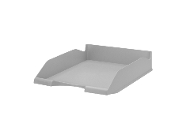 Jalema Re-Solution Letter Tray, Grey