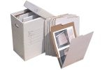 "Box file(28""Wx12""Dx20""H) and 10(26""x19"") folders included. VFile25 holds 30 folders. Additional folders available."
