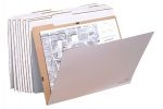 "Corrugated folder(39""x27.5"") holds about 50 sheets per folder. Use with VFile37. (8/bx)"
